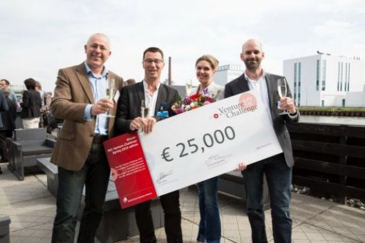 Winning NGI Venture Challenge for breast cancer project